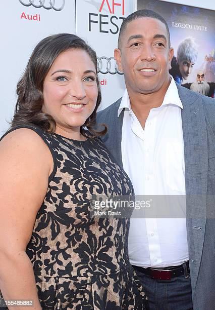"Personality Jo Frost and Darrin Jackson arrive at the gala screening of ""Rise of the Guardians"" during the 2012 AFI Fest presented by Audi at..."