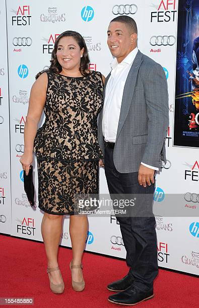 TV personality Jo Frost and Darrin Jackson arrive at the premiere of Rise of the Guardians during the 2012 AFI Fest presented by Audi at Grauman's...