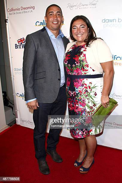 TV personality Jo Frost and Darrin Jackson attend the book launch party for California Dreaming Real Life Stories Of Brits In LA held at L'Ermitage...