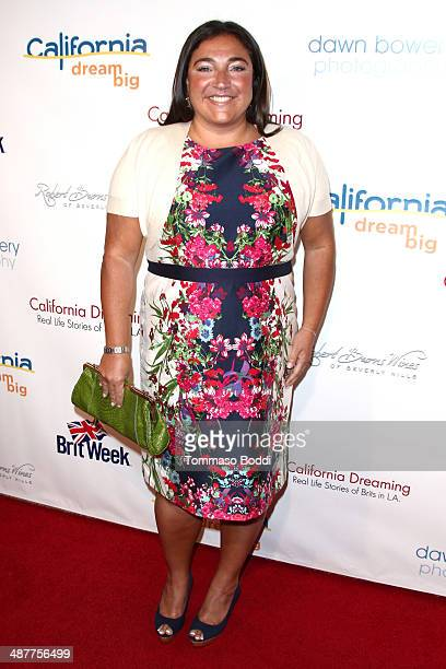 "Personality Jo Frost attends the book launch party for ""California Dreaming: Real Life Stories Of Brits In L.A."" held at L'Ermitage Beverly Hills..."