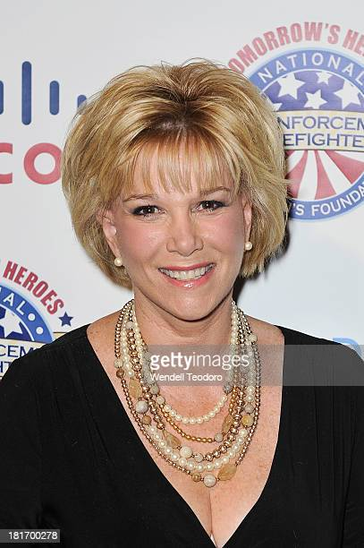 Personality Joan Lunden attends the 2013 Children's Foundation Hero Awards Gala at The Edison Ballroom on September 23 2013 in New York City