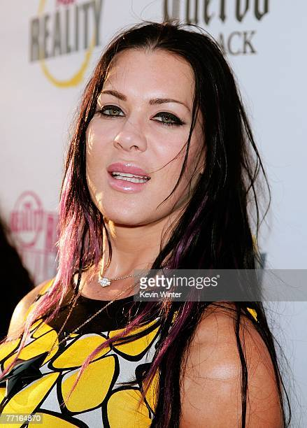 TV personality Joanie Chyna Laurer arrives at the 2007 Fox Reality Channel Really Awards held at Boulevard 3 on October 2 2007 in Hollywood California