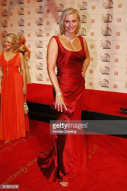 Personality Joanna Griggs arrives at the 48th Annual TV Week Logie Awards at the Crown Entertainment Complex on May 7 2006 in Melbourne Australia