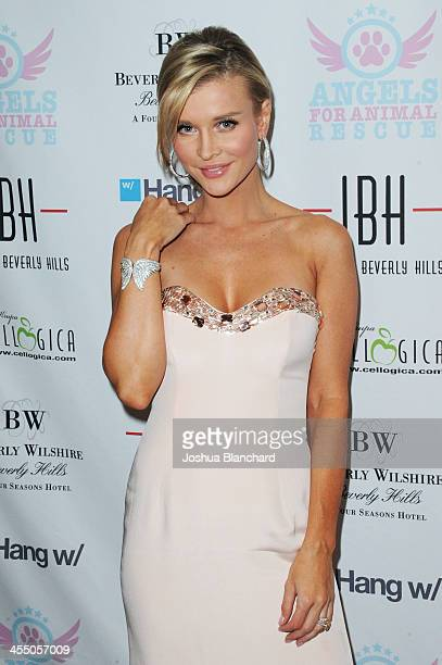 Personality Joanna Krupa arrives at Angels For Animal Rescue benefit hosted by Joanna Krupa at the Beverly Wilshire Four Seasons Hotel on December 10...
