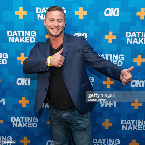 TV personality Joe Papalexandrou attends the 'Dating Naked' series premiere at Gansevoort Park Avenue on July 16 2014 in New York City