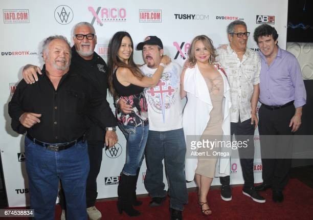 Personality Joey Buttafuoco and guests arrive for the 33rd Annual XRCO Awards Show held at OHM Nightclub on April 27 2017 in Hollywood California