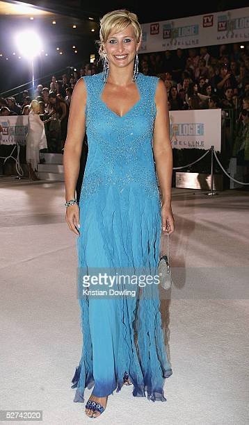 Personality Johanna Griggs arrives at the 47th Annual TV Week Logie Awards at the Crown Entertainment Complex May 1 2005 in Melbourne Australia
