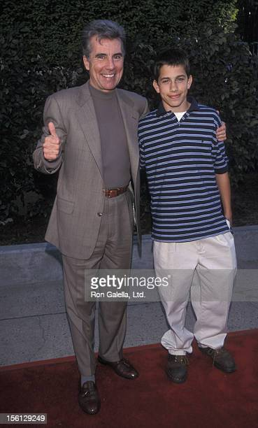 TV Personality John Walsh and son Callahan Walsh attending 'FOX TV UpFront Celebration' on May 20 1999 at Lincoln Center in New York City New York