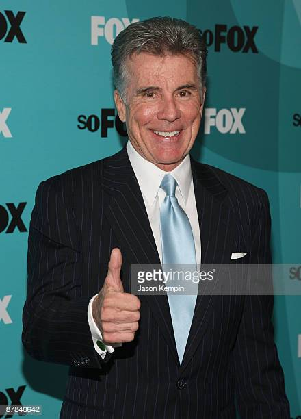 TV personality John Walsh attends the 2009 FOX UpFront after party at the Wollman Rink in Central Park on May 18 2009 in New York City
