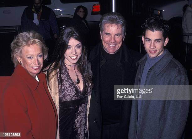 TV Personality John Walsh wife Reve Drew son Callahan Walsh and daughter Megan Walsh attending the New York premiere of 'Two Weeks Notice' on...