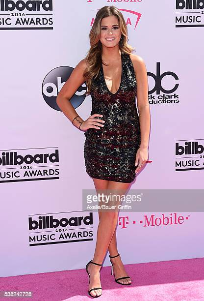 TV personality JoJo Fletcher arrives at the 2016 Billboard Music Awards at TMobile Arena on May 22 2016 in Las Vegas Nevada