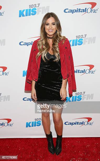 TV personality JoJo Fletcher attends 1027 KIIS FM's Jingle Ball 2016 presented by Capital One at Staples Center on December 2 2016 in Los Angeles...
