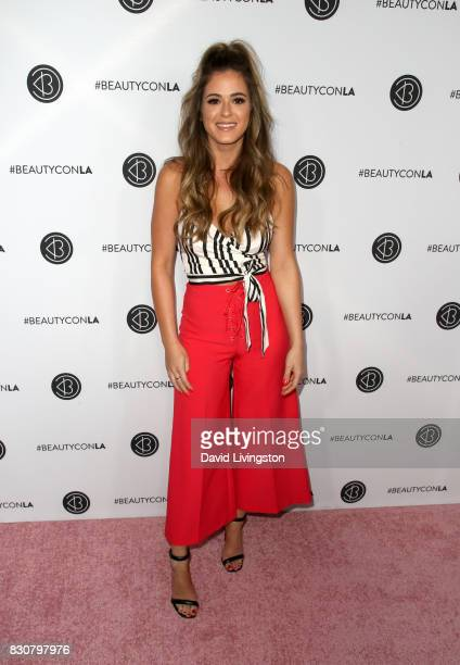 TV personality JoJo Fletcher attends Day 1 of the 5th Annual Beautycon Festival Los Angeles at the Los Angeles Convention Center on August 12 2017 in...