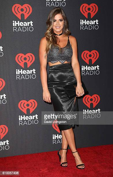 TV personality Jojo Fletcher attends the 2016 iHeartRadio Music Festival Night 1 at TMobile Arena on September 23 2016 in Las Vegas Nevada