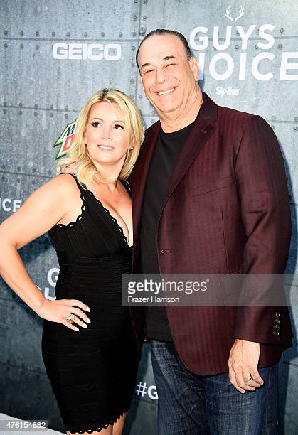 TV personality Jon Taffer and Nicole Taffer attend Spike TV's Guys Choice 2015 at Sony Pictures Studios on June 6 2015 in Culver City California