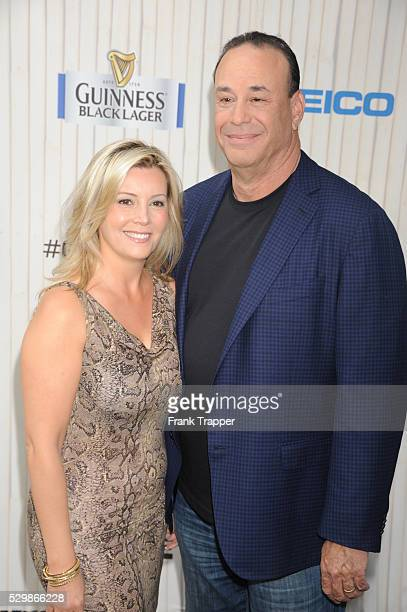 TV personality Jon Taffer and wife Nicole arrive at Spike TV's Guys Choice Awards 2013 held at Sony Pictures Studios