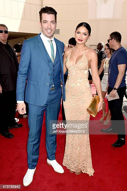 TV personality Jonathan Silver Scott and model Jamillette Gaxiola and attends the 2015 Billboard Music Awards at MGM Grand Garden Arena on May 17...