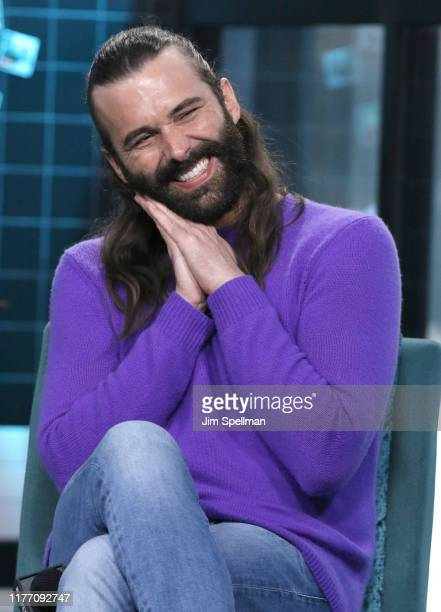 Personality Jonathan Van Ness attends the Build Series to discuss his new book Over the Top A Raw Journey to SelfLove at Build Studio on September 25...