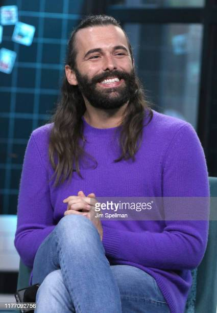 """Personality Jonathan Van Ness attends the Build Series to discuss his new book """"Over the Top: A Raw Journey to Self-Love"""" at Build Studio on..."""