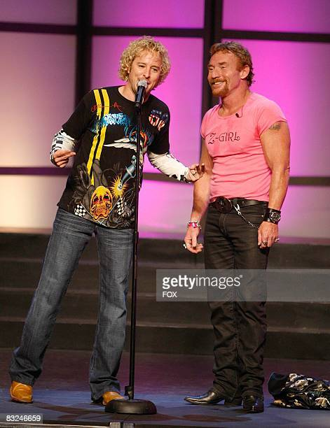 TV personality Jonny Fairplay and actor Danny Bonaduce attend the FOX Reality Channel Really Awards on September 24 2008 at the Avalon Hollywood club...