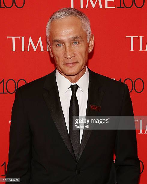 TV personality Jorge Ramos attends the 2015 Time 100 Gala at Frederick P Rose Hall Jazz at Lincoln Center on April 21 2015 in New York City