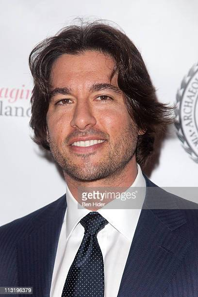 Personality Josh Bernstein attends the Archaeological Institute Of America's 2011 annual gala at Capitale on April 26 2011 in New York City