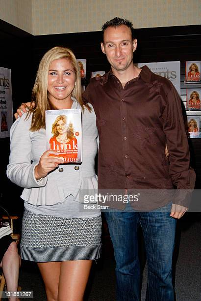 TV personality Josie Goldberg and entrepreneur Braden Pollock Attend Lisa Bloom's Book Signing And Discussion Of Her New Book Think With Special...