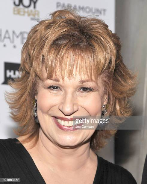 TV personality Joy Behar attends the Hamptons Magazine party at the Library Bar at the Paramount Hotel on September 30 2010 in New York City