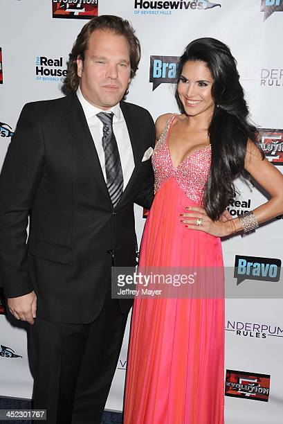 Personality Joyce Giraud de Ohoven and husband Michael Ohoven arrive at 'The Real Housewives Of Beverly Hills' And 'Vanderpump Rules' premiere party...
