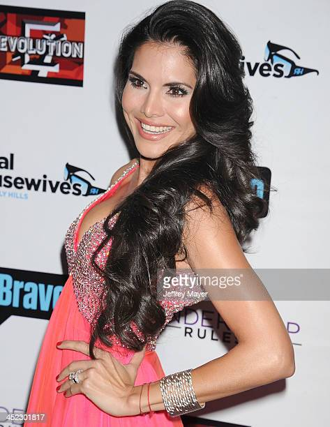 Personality Joyce Giraud de Ohoven arrives at 'The Real Housewives Of Beverly Hills' And 'Vanderpump Rules' premiere party at Boulevard3 on October...