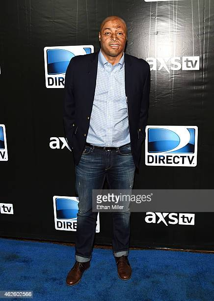 TV personality JR Martinez attends DirecTV Super Saturday Night hosted by Mark Cuban's AXS TV and Pro Football Hall of Famer Michael Strahan at...