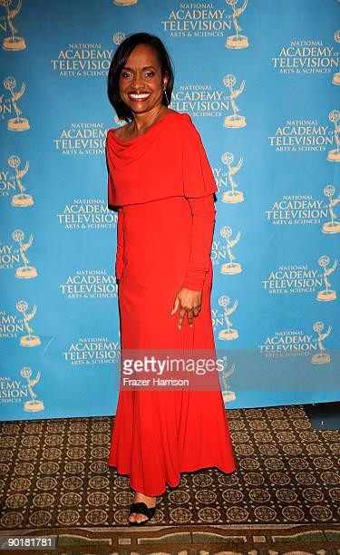 TV personality Judge Glenda Hatchett arrives at the 36th Annual Daytime Creative Arts Emmy Awards at the Westin Bonaventure Hotel on August 29 2009...