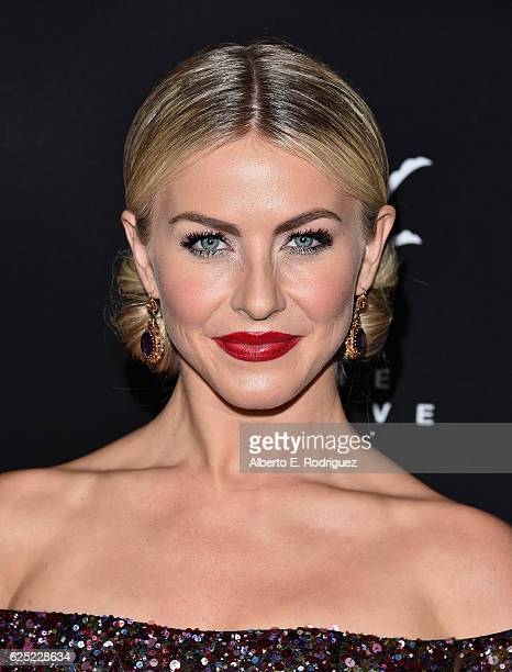 TV personality Julianne Hough attends ABC's Dancing With The Stars Season 23 Finale at The Grove on November 22 2016 in Los Angeles California
