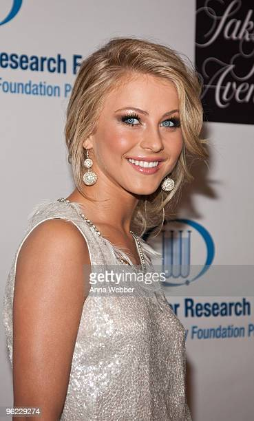 Personality Julianne Hough attends An Unforgettable Evening Benefitting EIF's Women's Cancer Fund at Beverly Wilshire Four Seasons Hotel on January...