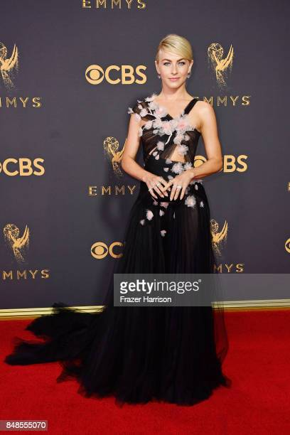 TV personality Julianne Hough attends the 69th Annual Primetime Emmy Awards at Microsoft Theater on September 17 2017 in Los Angeles California