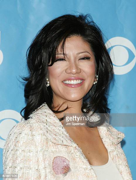 TV personality Julie Chen attends the 2009 CBS Upfront at Terminal 5 on May 20 2009 in New York City