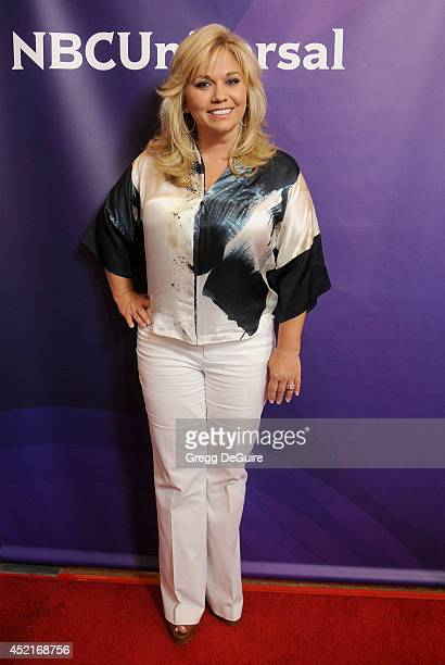 TV personality Julie Chrisley arrives at the 2014 Television Critics Association Summer Press Tour NBCUniversal Day 2 at The Beverly Hilton Hotel on...