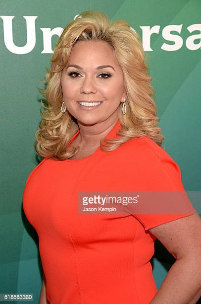 TV personality Julie Chrisley attends the 2016 NBCUniversal Summer Press Day at Four Seasons Hotel Westlake Village on April 1 2016 in Westlake...