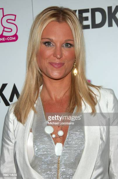 TV personality Juliet Huddy arrives to US Weekly's celebration of Fashion Week and the 25 most stylish New Yorkers at Arena in New York City on...