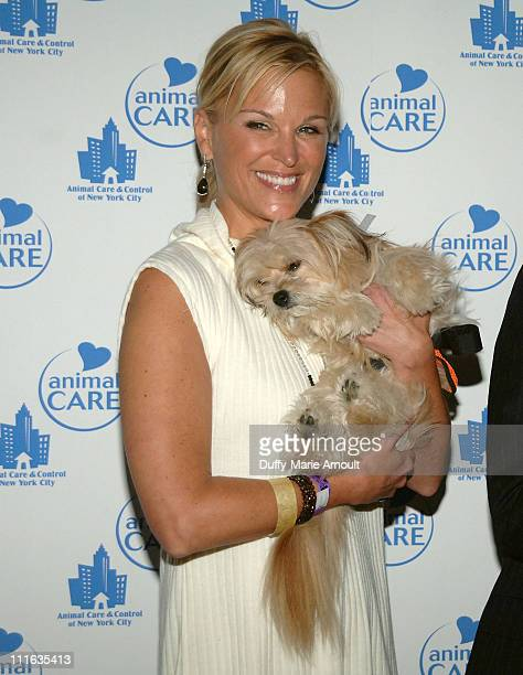 TV Personality Juliet Huddy attends Animal Care and Control A Party for the Paws at Pressure on September 25 2008 in New York City