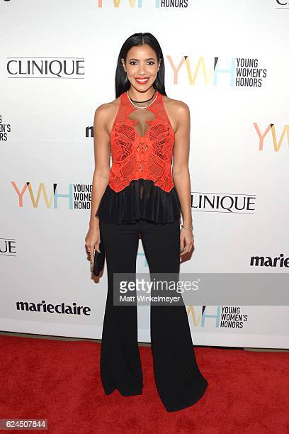 TV personality Julissa Bermudez attends the 1st annual Marie Claire Young Women's Honors at Marina del Rey Marriott on November 19 2016 in Marina del...