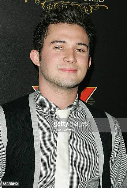 TV personality Justin Kredible attends The Most Interesting Show in the World presented by Dos Equis at The Henry Fonda Theater on October 10 2008 in...