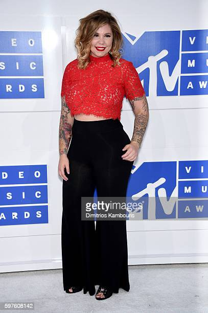 TV personality Kailyn Lowry attends the 2016 MTV Video Music Awards at Madison Square Garden on August 28 2016 in New York City