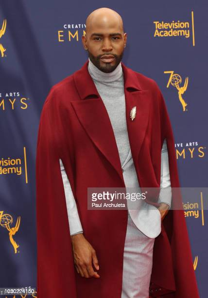 Personality Karamo Brown attends the 2018 Creative Arts Emmy Awards Day 2 at the Microsoft Theater on September 9 2018 in Los Angeles California