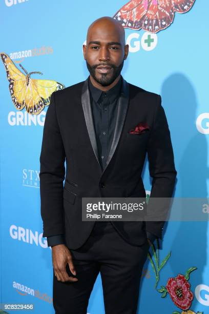 Personality Karamo Brown attends the world premiere of 'Gringo' from Amazon Studios and STX Films at Regal LA Live Stadium 14 on March 6, 2018 in Los...