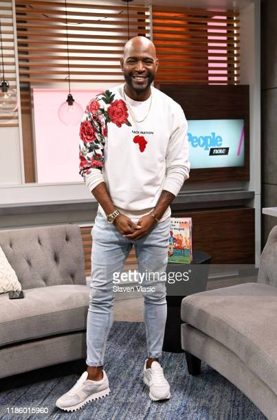 Personality Karamo Brown visits PeopleNow at PeopleTV Studios on November 06, 2019 in New York, United States.