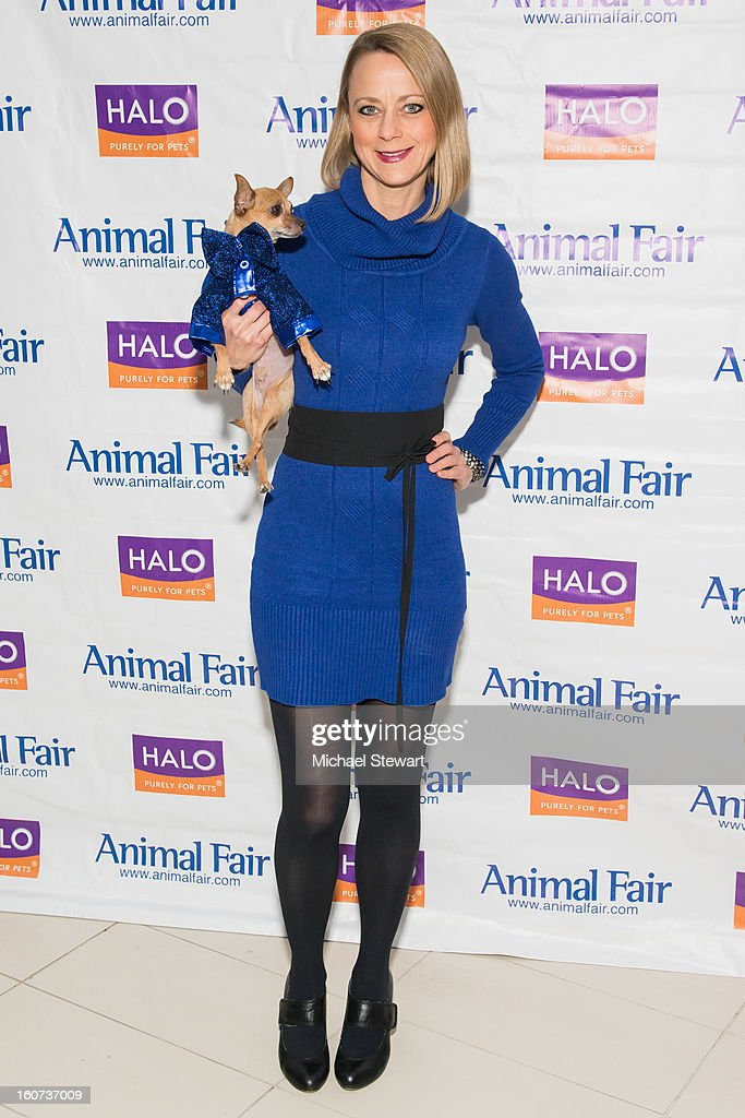 TV personality Karen Biehl attends the TLC's 'Cake Boss' Baby Hope's Most Expensive Pet Wedding in History benefiting the Humane Society episode viewing at Maserati Showroom on February 4, 2013 in New York City.