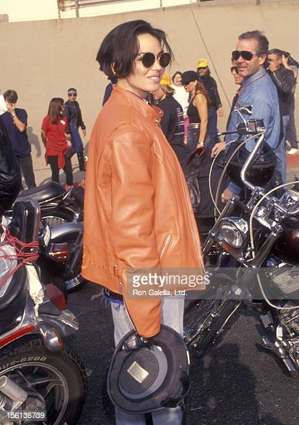 TV Personality Karen Duffy attends the Love Ride 10 10th Annual Motocycle Rider's Fundraiser for the Muscular Dystrophy Association on November 7...