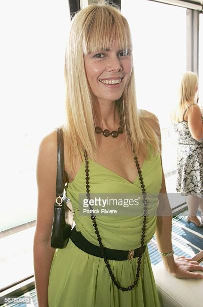 TV personality Karen Fischer attends a Celebrity Shoe Auction at the Intercontinental Hotel on February 8 2006 in Sydney Australia