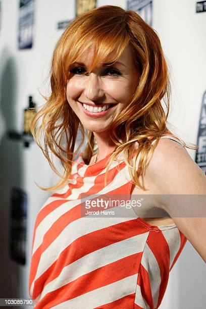 TV personality Kari Byron arrives at the G4 and LUCASFILM Presents GPhoria Strikes Back on July 22 2010 in San Diego California